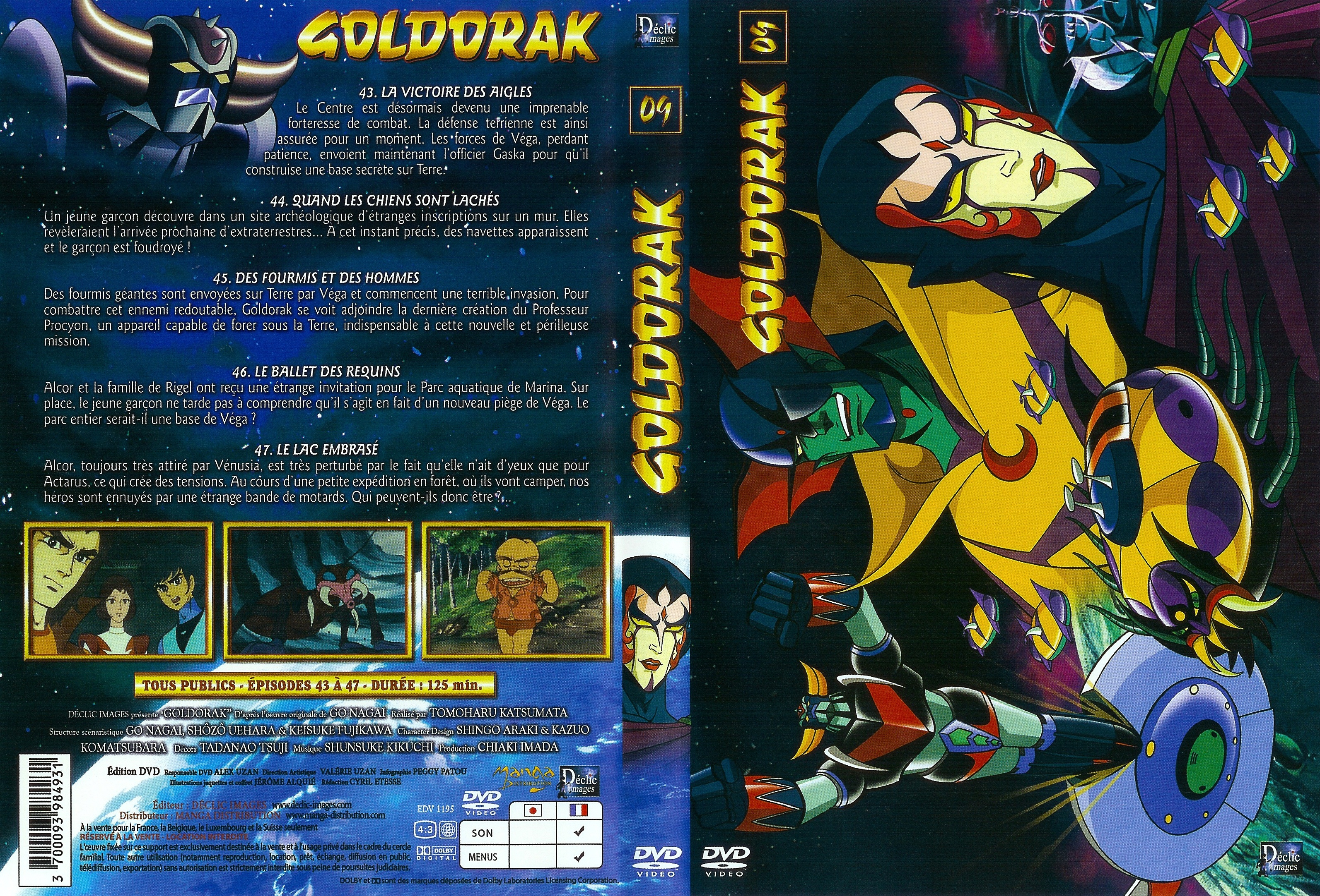 Goldorak Vol09 French Scan Dvdcover-Potos